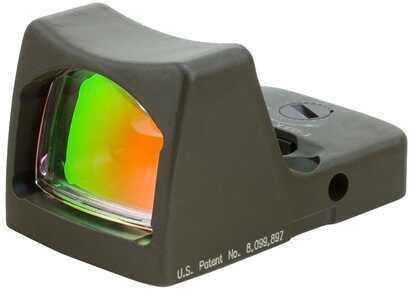 Trijicon RMR Sight LED 3.25 MOA Red Dot, Cerakote, OD Green Md: RM01-C-700101