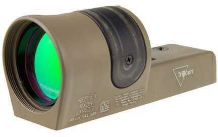 Trijicon 1X42mm Reflex Amber 4.5 MOA Dot Reticle, Cerakote Flat Dark Earth Md: Rx34-C-800094