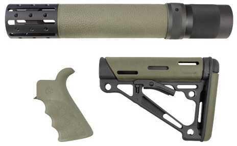 Hogue AR15 Kit BFG Grip Rail Forend Accessory OMC Olive Drab Green Md: 15278