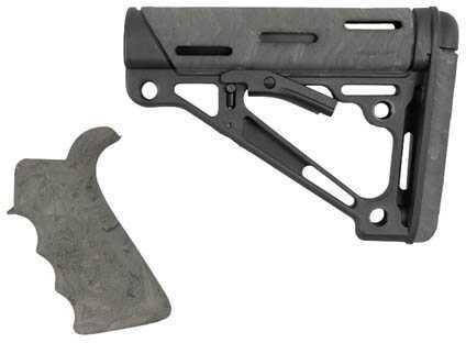 Hogue AR15 OMCB BFG Grip - Com/Mil-Spec Ghillie Green Md: 15855