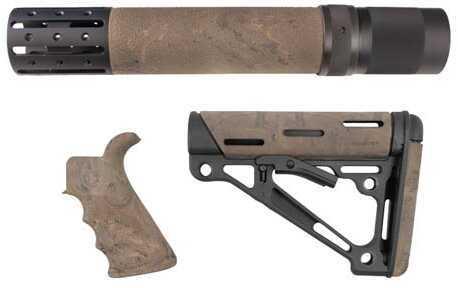 Hogue AR15 Kit BFG Grip Rail Forend Accessory OMC Ghillie Tan Md: 15978