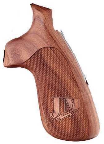 Hogue S&W N Frame Round Butt Grips Convert Pau Miculek JM Checkered Md: 25315
