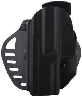 Hogue C24 CZ-75 P-09 Left Hand Holster Black Md: 52179