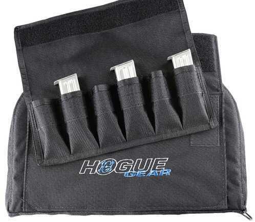 Hogue HG Pistol Bag Front Pocket, Black 6 Mag, Large Md: 59260