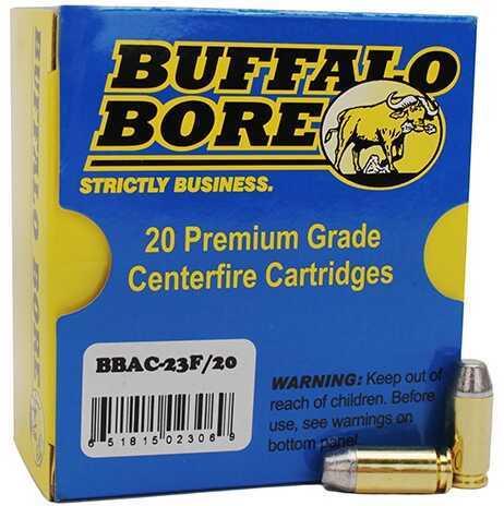 Buffalo Bore Ammunition Outdoorsman 40S&W 200 Gr Hard Cast FN (Per 20) Md: 23F/20