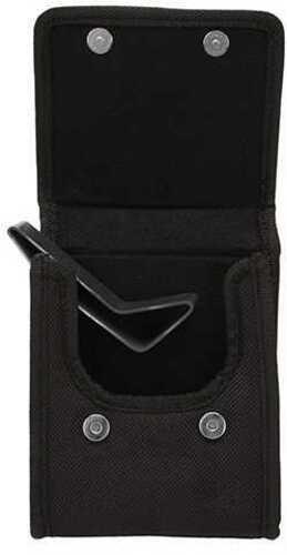 Bulldog Cases Black Nylon Vertical Phone Holster w/Belt Loop/Clip Compact 9mm Md: BD849