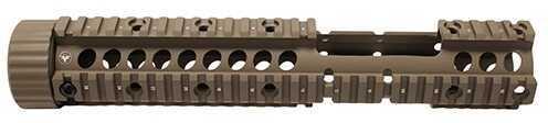 """Firefield Carbine 12.25"""" Floating Quad Rail w/Cutout Dark Earth Md: FF34006DE"""