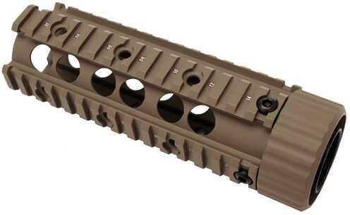 "Firefield Carbine 6.9"" Floating Quad Rail Dark Earth Md: FF34004DE"
