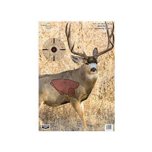 """Birchwood Casey Pregame Targets Mule Deer, 16.5"""" x 24"""" (Per 3) 35402"""