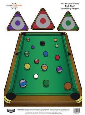 "Birchwood Casey Pregame Targets Trick Shot, 12"" x 18"" (Per 100) Md: 35589"