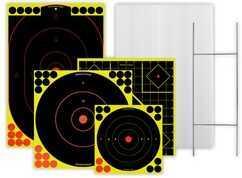 Birchwood Casey Sharpshooter Targets Standard Backer & Shooter Kit 38102