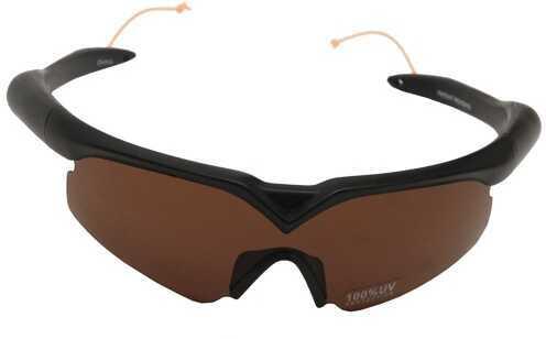 NcStar Shooting Glasses/Ear Plugs Amber Md: VAGLAP-A