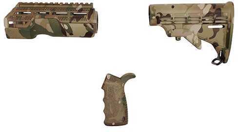 American Built Arms Company AR-15 Furniture Kit (MOD1) Multi Cam Md: ABATUK1MC