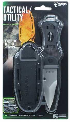 "McNett Tactical Samish Stiletto Knife 3"" Black Md: 60156"