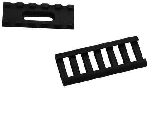 Ergo Aluminum Ump Rail 5 Slot w/Rail Cover, Black Md: 4760