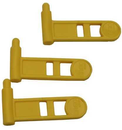 Ergo Pistol Safety Chamber Flag, 3 Pack Yellow Md: 4986-3PK-YL