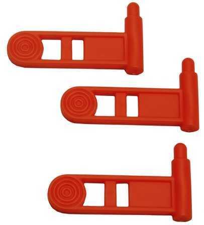 Ergo Pistol Safety Chamber Flag, 3 Pack Orange Md: 4986-3PK-OR
