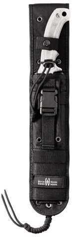 Buck Knives Heavy Duty Nylon, Black M.O.L.L.E Sheath, Buck/Hood Hoodlum Md: 0060-15-BK