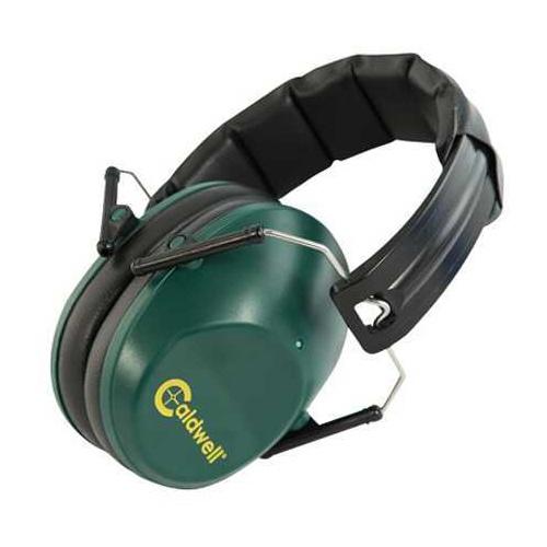 Caldwell Low Profile Range Earmuffs Hearing Protection 25 dB Green 498024