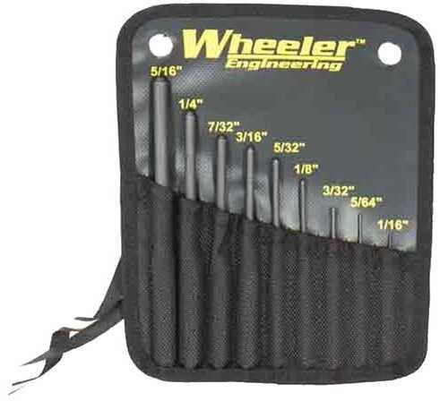 Wheeler Roll Pin Punch Set Md: 204513