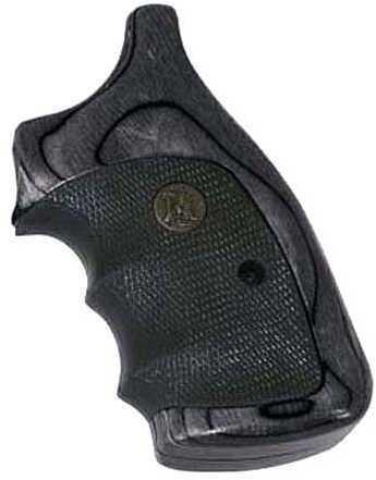 Pachmayr S&W Legend Grips K L Frame Round Butt Charcoal SLVTN 00461