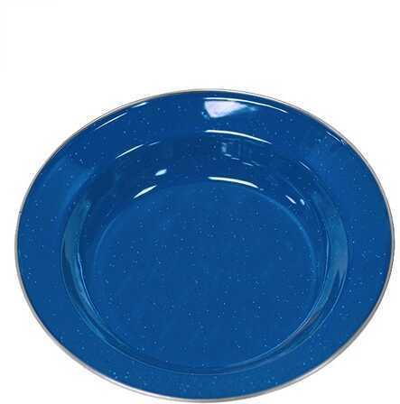 "Stansport Enamel Soup Plate 10"" Md: 10701"