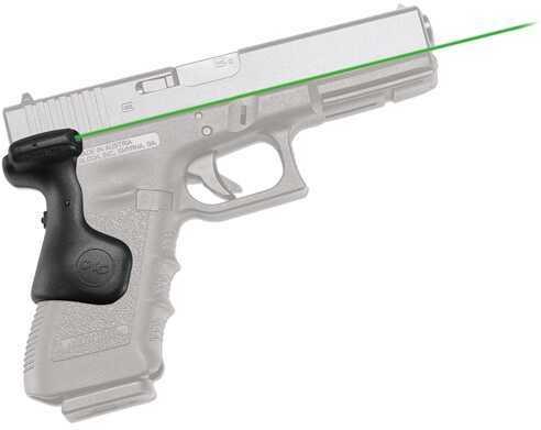 Crimson Trace Glock Gen 3(17,17L,22,31,34,35, 37) Laser Grip, Rear Activation, Green Md: LG-637G