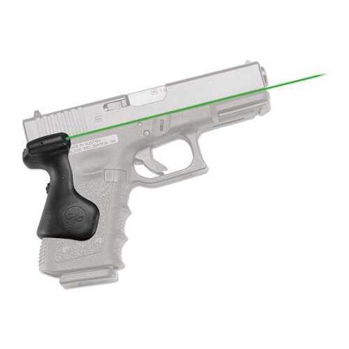 Crimson Trace Glock Gen 3 (19, 23, 25, 32, 38), Rear Activation, Green Md: LG-639G