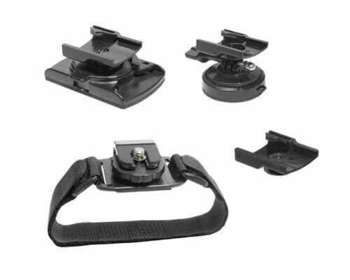 Midland Radios Value Pack Helmet/Goggle/Vented Hemet Mount Md: XTAVP-2