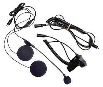 Midland Radios Closed Face Helmet Headset w/Boom Mic Md: AVPH2