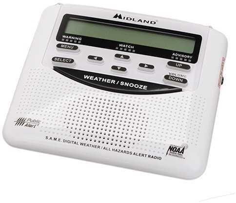 Midland Radios W/X Civil Tri-lingual Monitor w/SAME Box Md: WR-120B