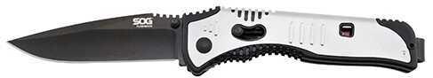 SOG Knives Flashback Black TiNi Md: SAT002-CP