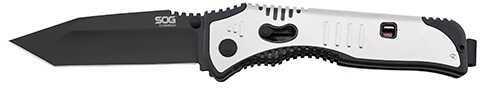 SOG Knives Flashback Black TiNi, Tanto Md: SAT004-CP