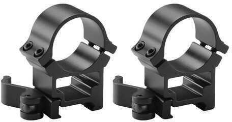Barska Optics 30mm High Weaver See-Through Quick Release Rings