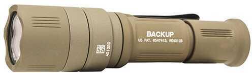 Surefire Flashlight EB1 Backup 5/200 Lumens Tan w/Shroud Md: EB1C-A-TN