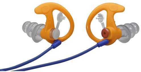 Surefire EP4 Sonic Defender Earplugs, Orange Medium, 1 Pair Md: EP4-OR-MPR