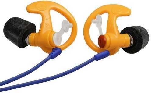 Surefire EP7 Sonic Defenders Ultra Earplugs, Foam Tipped, Orange Large, 1 Pair Md: EP7-OR-LPR