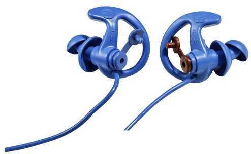 Surefire EP8 Sonic Defenders Cobalt Earplugs, Blue Large, 1 Pair Md: EP8-BL-LPR