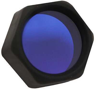 "Surefire Flashlight Slip On Filter Assembly Blue 1"" Bezel Md: F06"