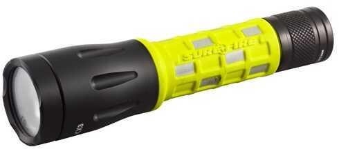 Surefire Flashlight G2D Firefighter Light, 15/60/115 Lumen, Black Md: G2D-FYL