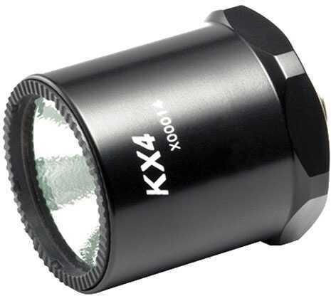 Surefire Flashlight KX4 Conversion, White LED D, Type II, Black Md: KX4D-BK
