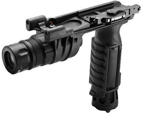 Surefire Flashlight Vertical Foregrip, Black 150 Lumens/120 Mw, White Md: M900V-BK-WH