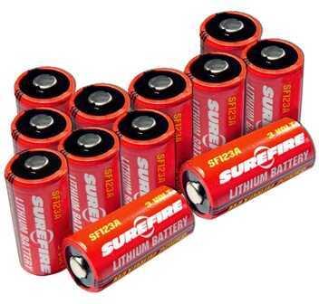 Surefire Batteries Per 12, Clam Pack Md: SF12A-BB CS