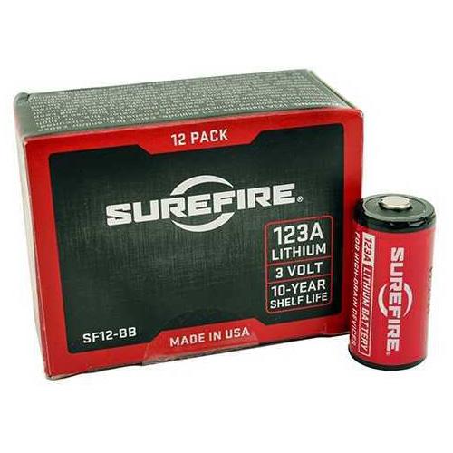 Surefire 3 Volt Lithium Battery Per Each SF12BB