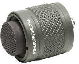 Surefire Flashlight Rear Cap Assembly, Gray Nl, Fits E1/E2 Lights Md: Z57