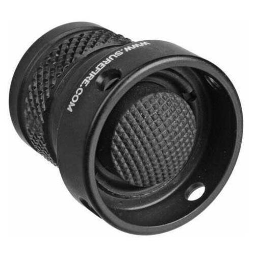 Surefire Flashlight Protective Rear Cap Assembly, Black Md: Z68