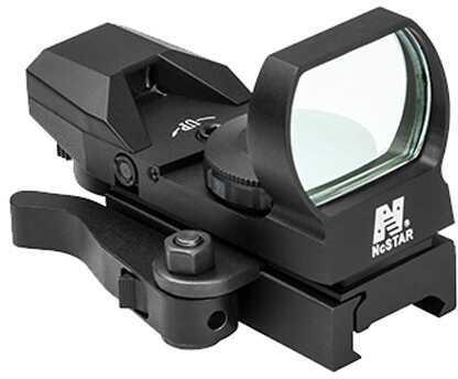 NcStar Red Reflex Sight/4 Reticles/QR Mount/Black Md: D4BQ