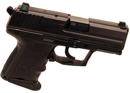 Pistol Heckler & Koch P2000SK V3 DA/SA 9mm Luger NoSfty/Deckr withNS10 Round 709303LE-A5
