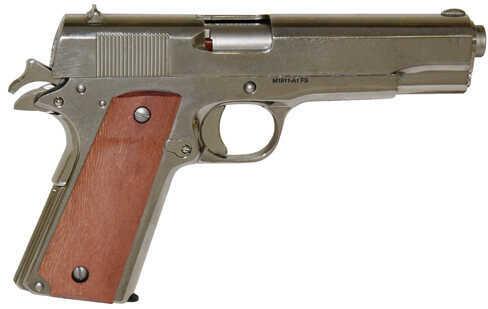 "Rock Island Armory Model 1911-A1 GI Series 38 Super Automatic  5"" Barrel  9 Round  Nickel Finish Semi Automatic Pistol 51814"