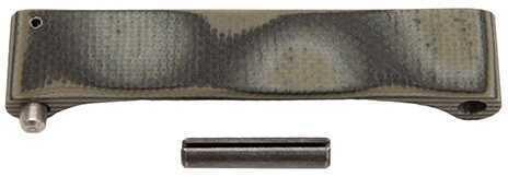 Hogue AR15 St Trigger Guard G10 G-Mascus Blue Lava Md: 15688
